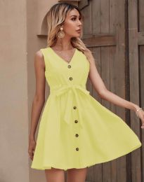 Obleka - koda 8188 - rumena
