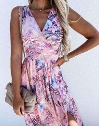 Obleka - koda 4801 - 6 - cvetni
