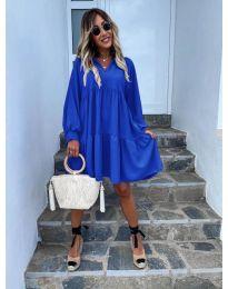 Obleka - koda 6643 - modra