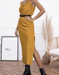 Obleka - koda 6231 - gorčica