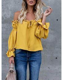 Bluza - koda 5574 - gorčica