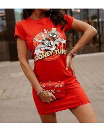 Obleka - koda 0303 - 3 - rdeča