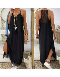 Obleka - koda 2575 - 2 - črna