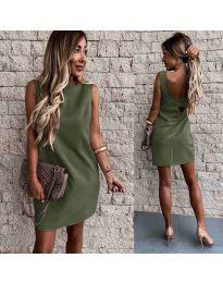 Obleka - koda 1156 - olivna