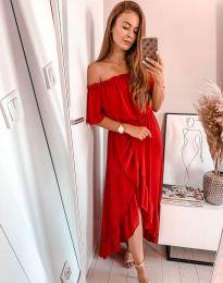 Obleka - koda 0186 - 1 - rdeča