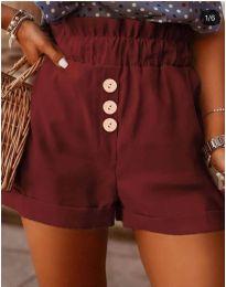Kratke hlače - koda 9383 - bordo