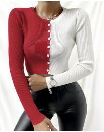 Bluza - koda 6366 - 4 - večbarvna