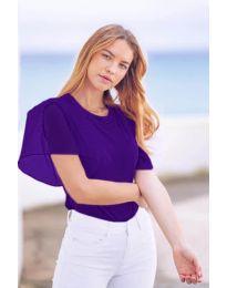 Majica - koda 527 - temno vijolična