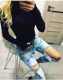 Bluza - koda 5256 - črna