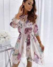 Obleka - koda 2738 - večbarvna
