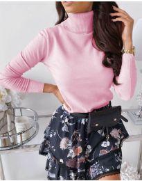 Bluza - koda 8861 - 12 - roza