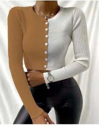 Bluza - koda 6366 - 7 - večbarvna