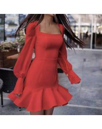Obleka - koda 3605 - rdeča