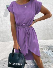 Obleka - koda 2074 - vijolična