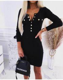 Obleka - koda 1527 - 1 - črna
