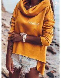Bluza - koda 7878 - oranžna