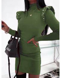 Obleka - koda 2323 - olivna