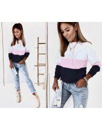 Bluza - koda 9966 - 4 - večbarvna