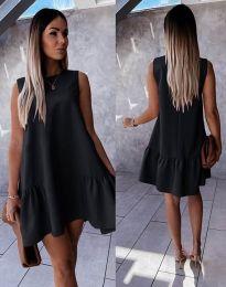 Obleka - koda 3456 - črna
