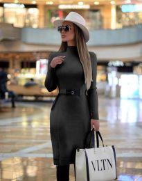 Obleka - koda 2932 - črna