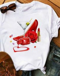 Majica - koda 2438 - 1 - bela