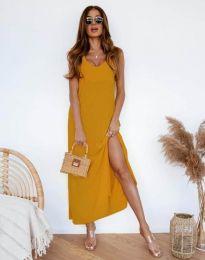Obleka - koda 11881 - gorčica