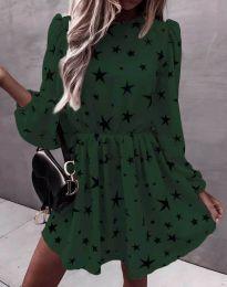 Obleka - koda 1689 - temno zelena