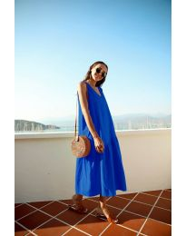 Obleka - koda 8810 - temno modra