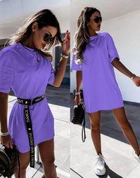 Obleka - koda 8809 - vijolična