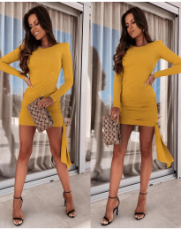 Obleka - koda 6515 - gorčica