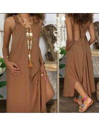 Obleka - koda 9597 - rjava