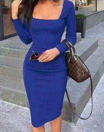 Obleka - koda 4521 - temno modra