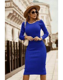 Obleka - koda 8485 - temno modra