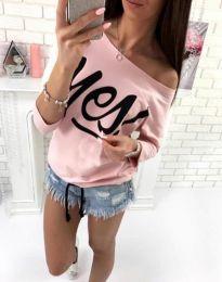 Bluza - koda 0996 - 4 - roza
