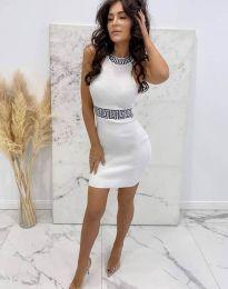 Obleka - koda 2593 - bela