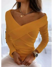 Bluza - koda 0308 - 6 - oranžna