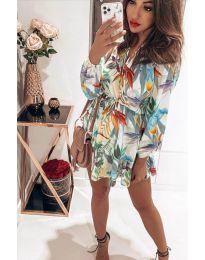 Obleka - koda 5514 - 3 - bela