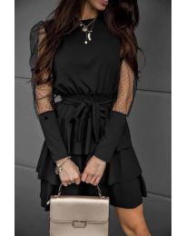 Obleka - koda 8384 - črna
