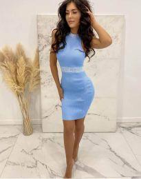 Obleka - koda 2593 - svetlo modra