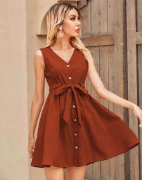 Obleka - koda 8188 - bakreno rjava