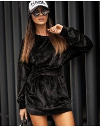 Obleka - koda 8989 - črna