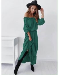 Obleka - koda 1317 - olivna