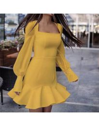 Obleka - koda 3605 - gorčica