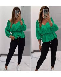 Bluza - koda 7771 - zelena
