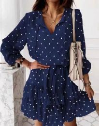 Obleka - koda 7113 - temno modra