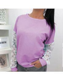 Bluza - koda 4060 - 2 - vijolična