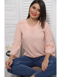 Bluza - koda 0629 - 4 - roza