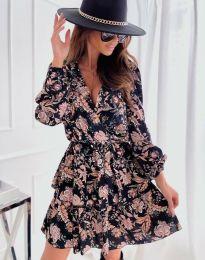 Obleka - koda 1649 - cvetni