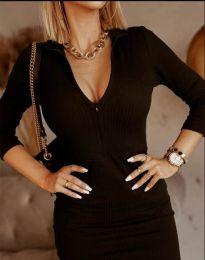 Obleka - koda 11643 - črna