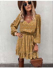 Obleka - koda 0366 - gorčica